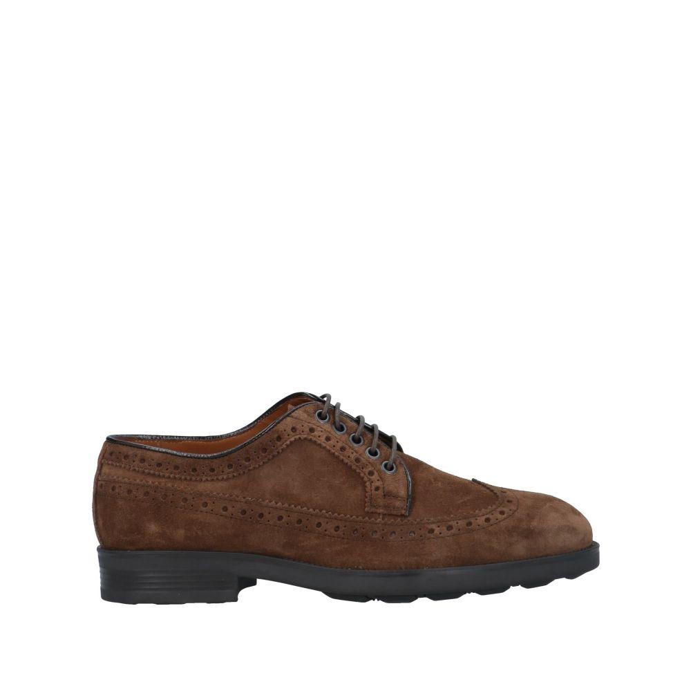 ファビ FABI メンズ シューズ・靴 【laced shoes】Brown