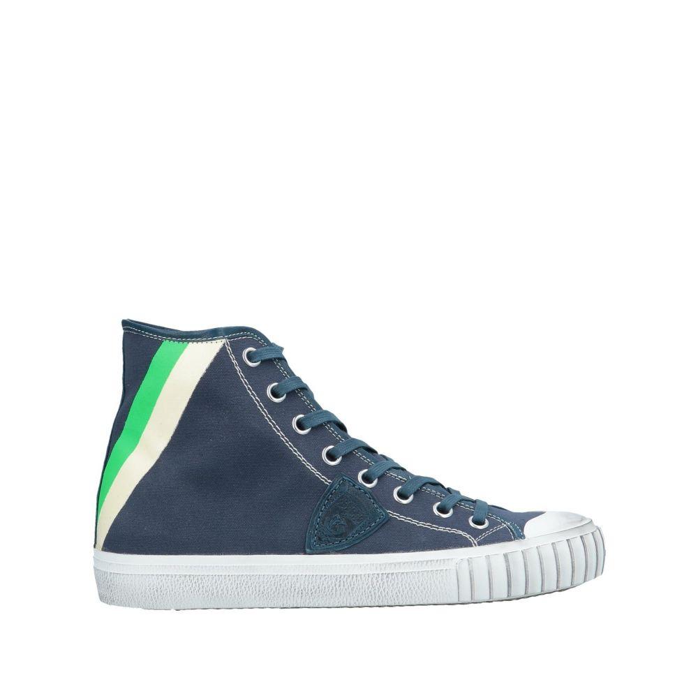 フィリップモデル PHILIPPE MODEL メンズ スニーカー シューズ・靴【sneakers】Dark blue