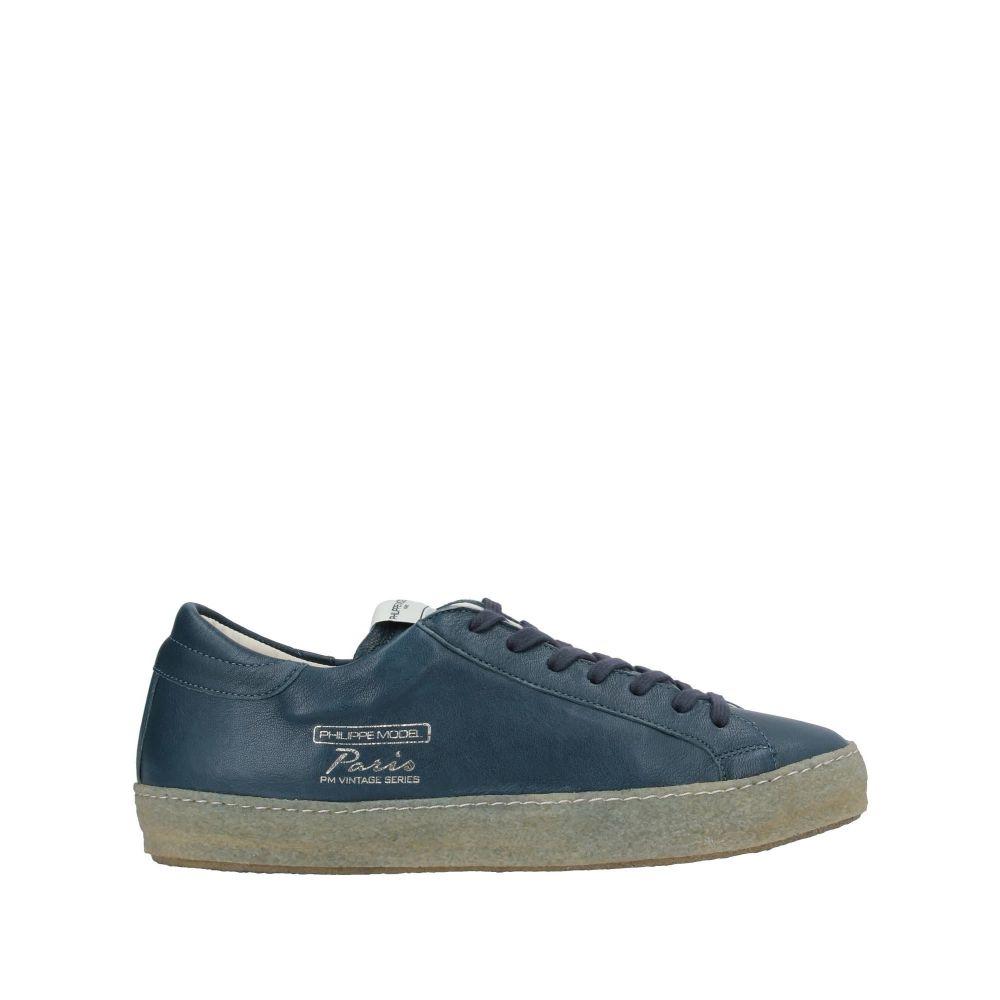 フィリップモデル PHILIPPE MODEL メンズ スニーカー シューズ・靴【sneakers】Slate blue