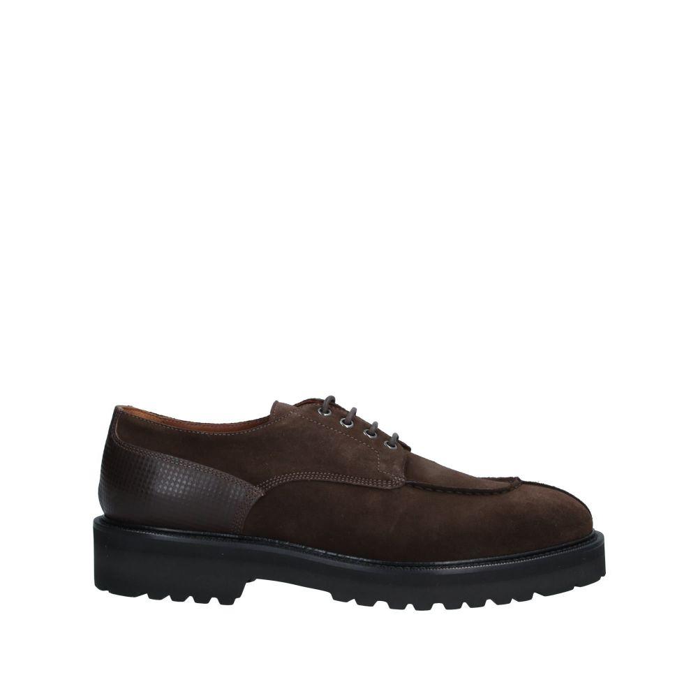 アルベルト ガルディアーニ ALBERTO GUARDIANI メンズ シューズ・靴 【laced shoes】Dark brown