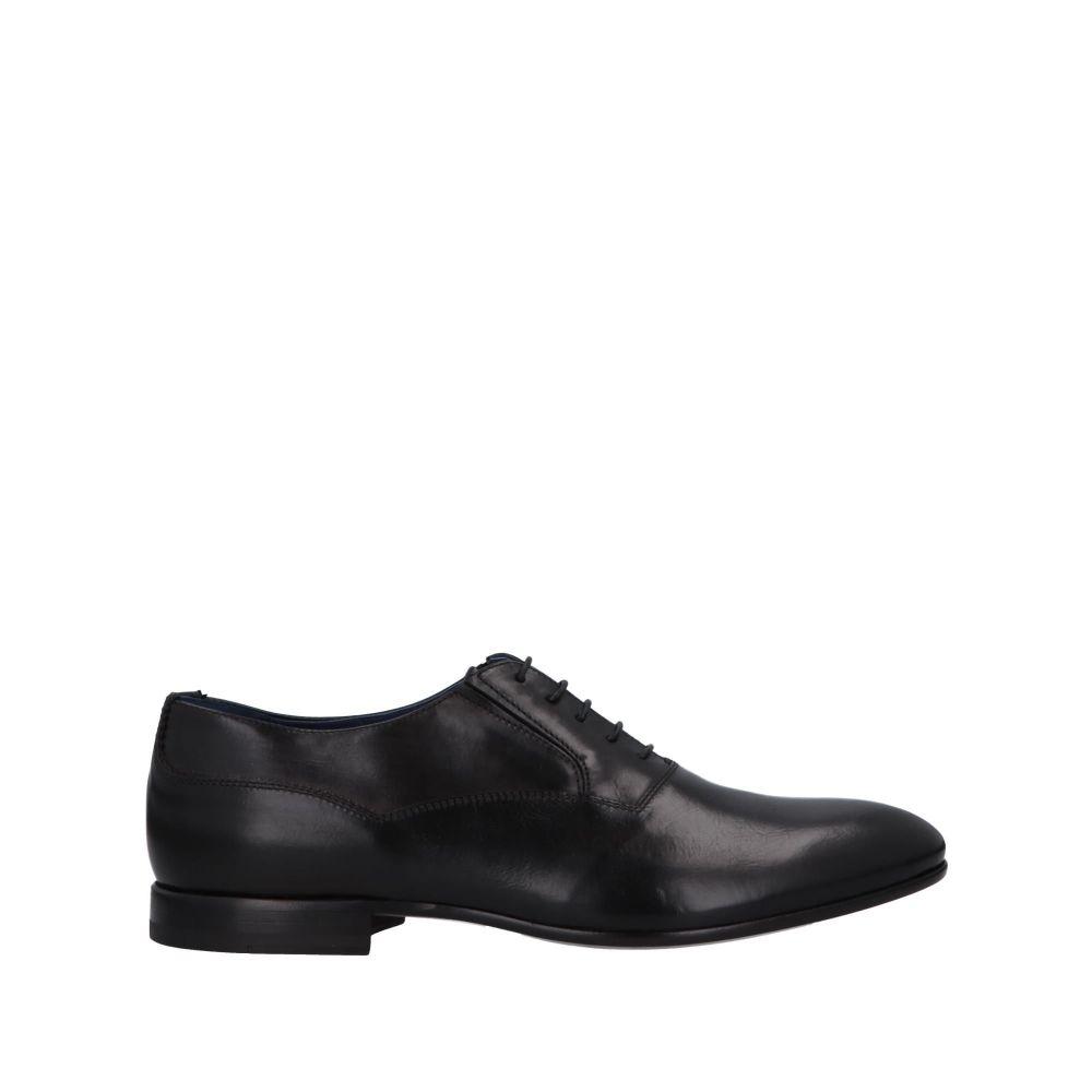 アルベルト ガルディアーニ ALBERTO GUARDIANI メンズ シューズ・靴 【laced shoes】Black