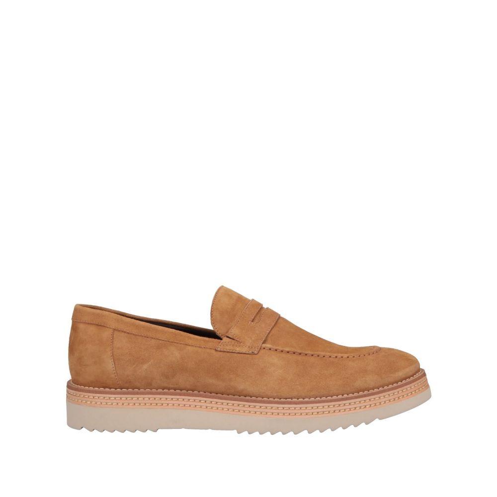 アルベルト ガルディアーニ ALBERTO GUARDIANI メンズ ローファー シューズ・靴【loafers】Camel