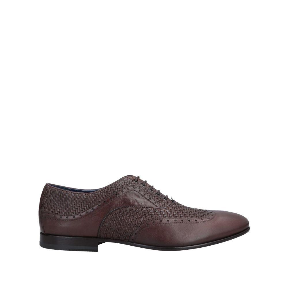 アルベルト ガルディアーニ ALBERTO GUARDIANI メンズ シューズ・靴 【laced shoes】Brown