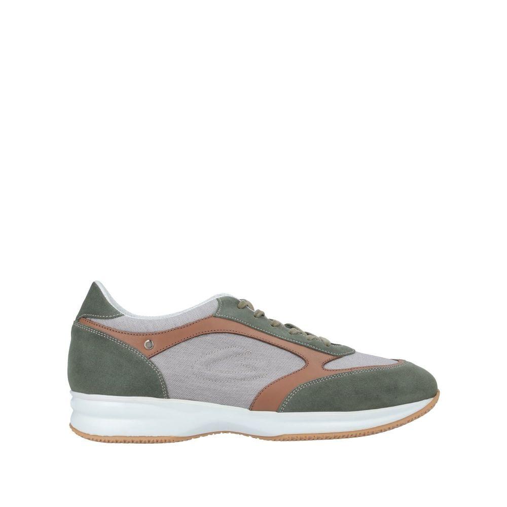 アルベルト ガルディアーニ ALBERTO GUARDIANI メンズ スニーカー シューズ・靴【sneakers】Military green