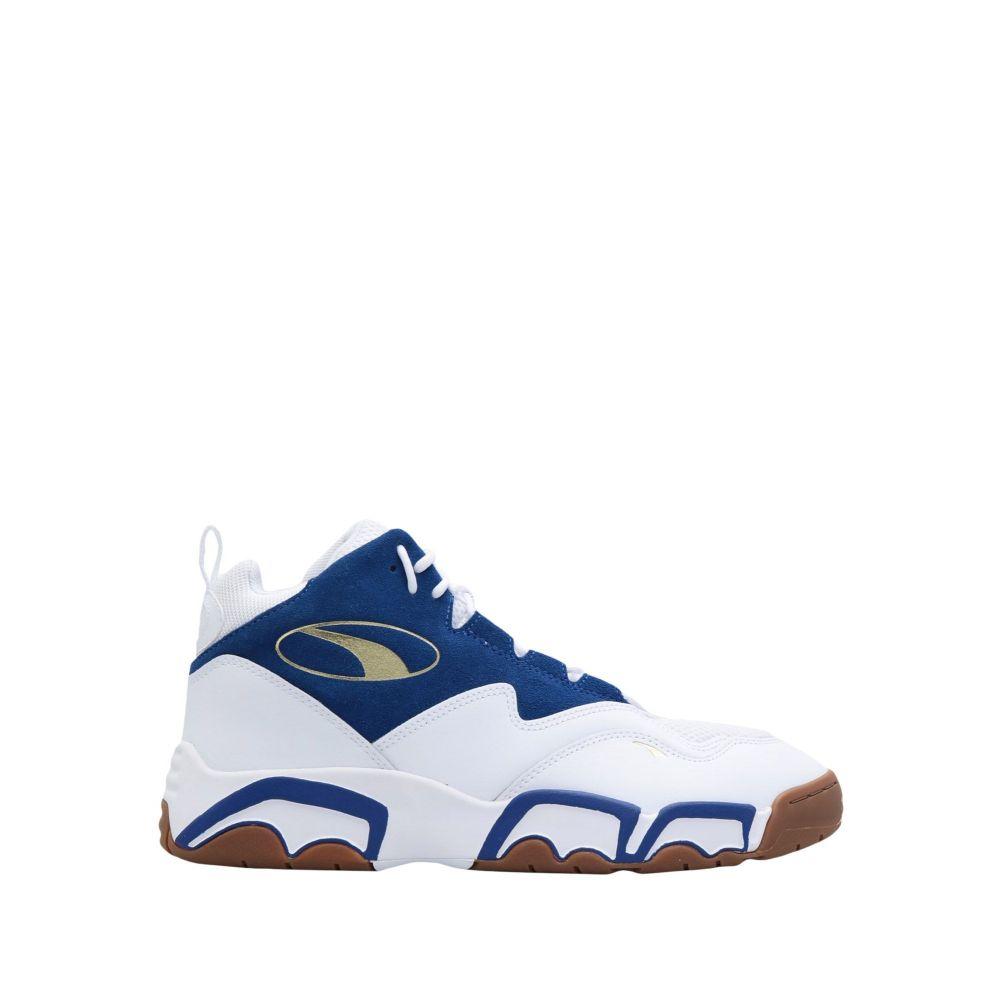 プーマ PUMA メンズ スニーカー シューズ・靴【source mid playoffs puma sneakers】White