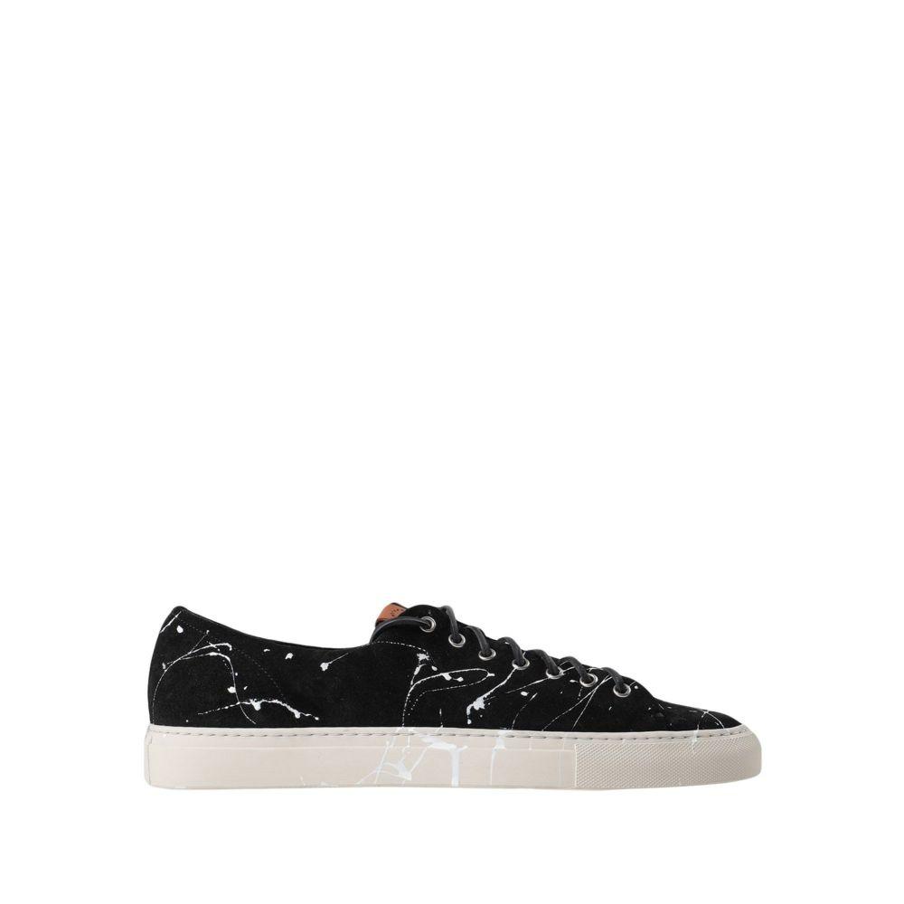 ブッテロ BUTTERO メンズ スニーカー シューズ・靴【tanino sneakers】Black