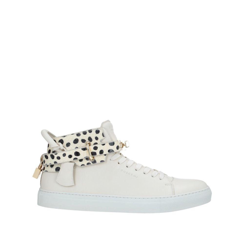 ブシェミ BUSCEMI メンズ スニーカー シューズ・靴【sneakers】Ivory