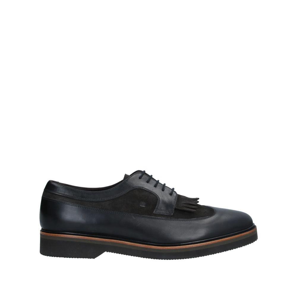 フラテッリ ロセッティ FRATELLI ROSSETTI メンズ シューズ・靴 【laced shoes】Black