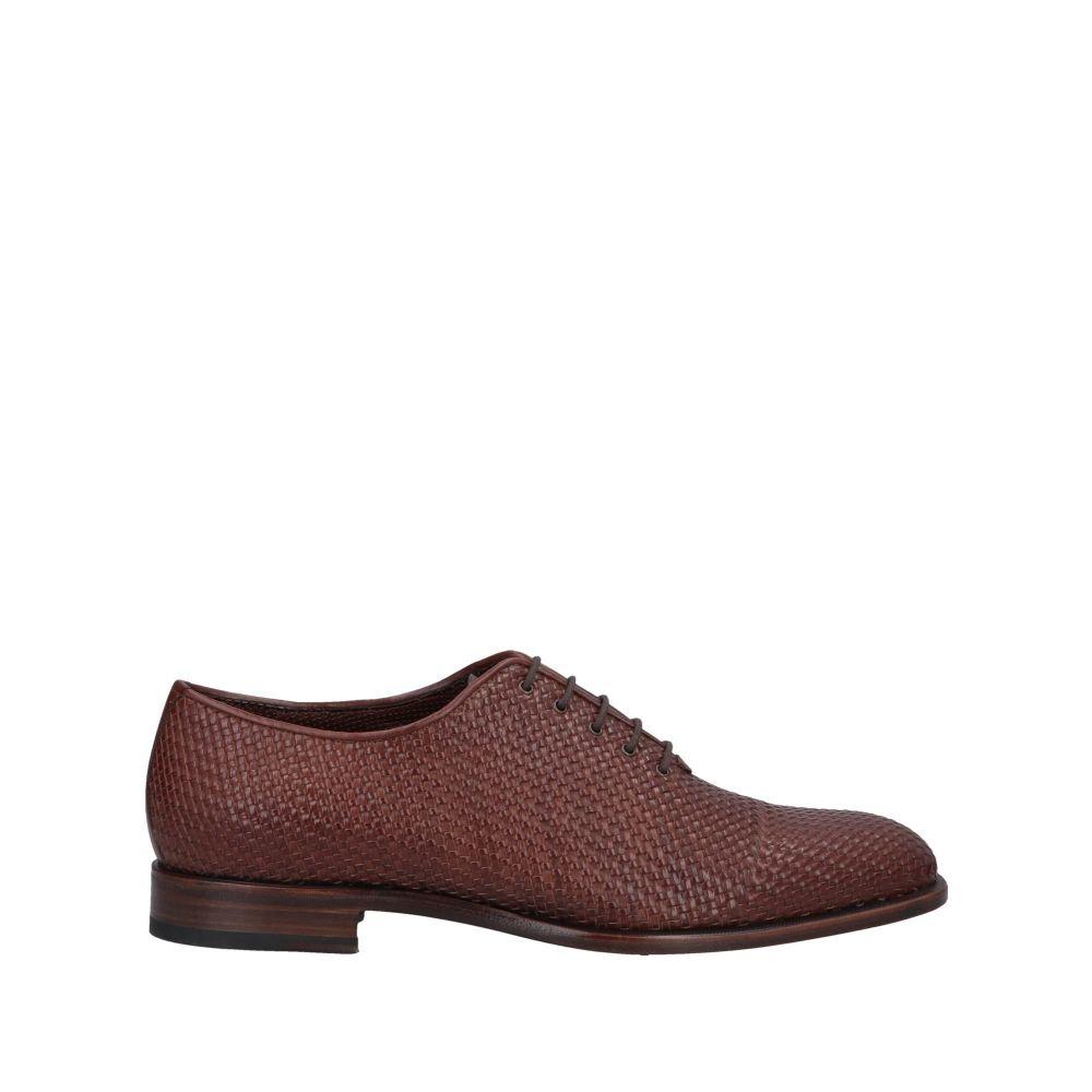 フラテッリ ロセッティ FRATELLI ROSSETTI メンズ シューズ・靴 【laced shoes】Brown