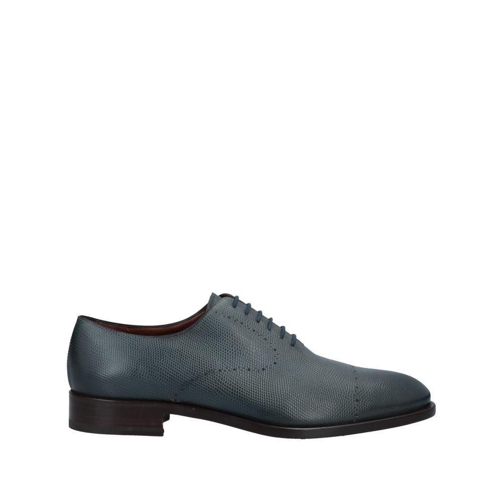 フラテッリ ロセッティ FRATELLI ROSSETTI メンズ シューズ・靴 【laced shoes】Deep jade