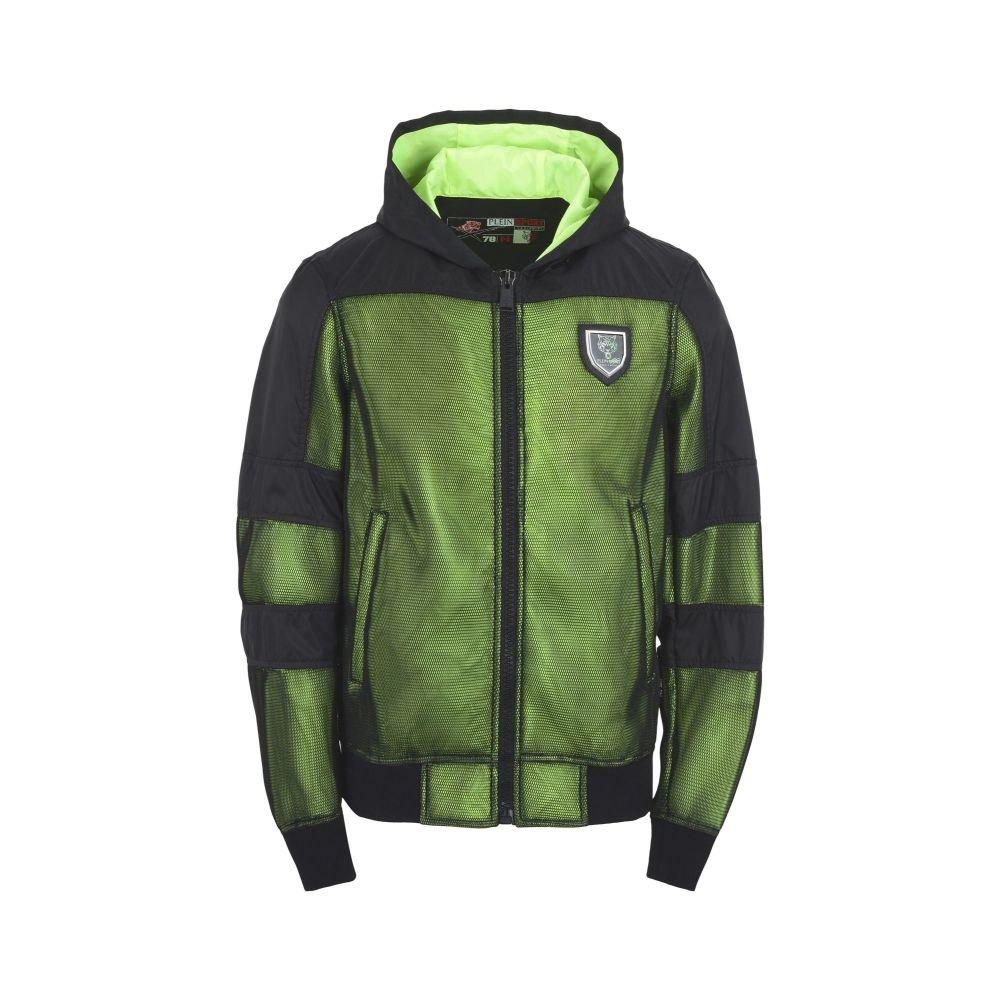 プレイン スポーツ PLEIN SPORT メンズ ジャケット アウター【nylon jacket kevin jacket】Acid green