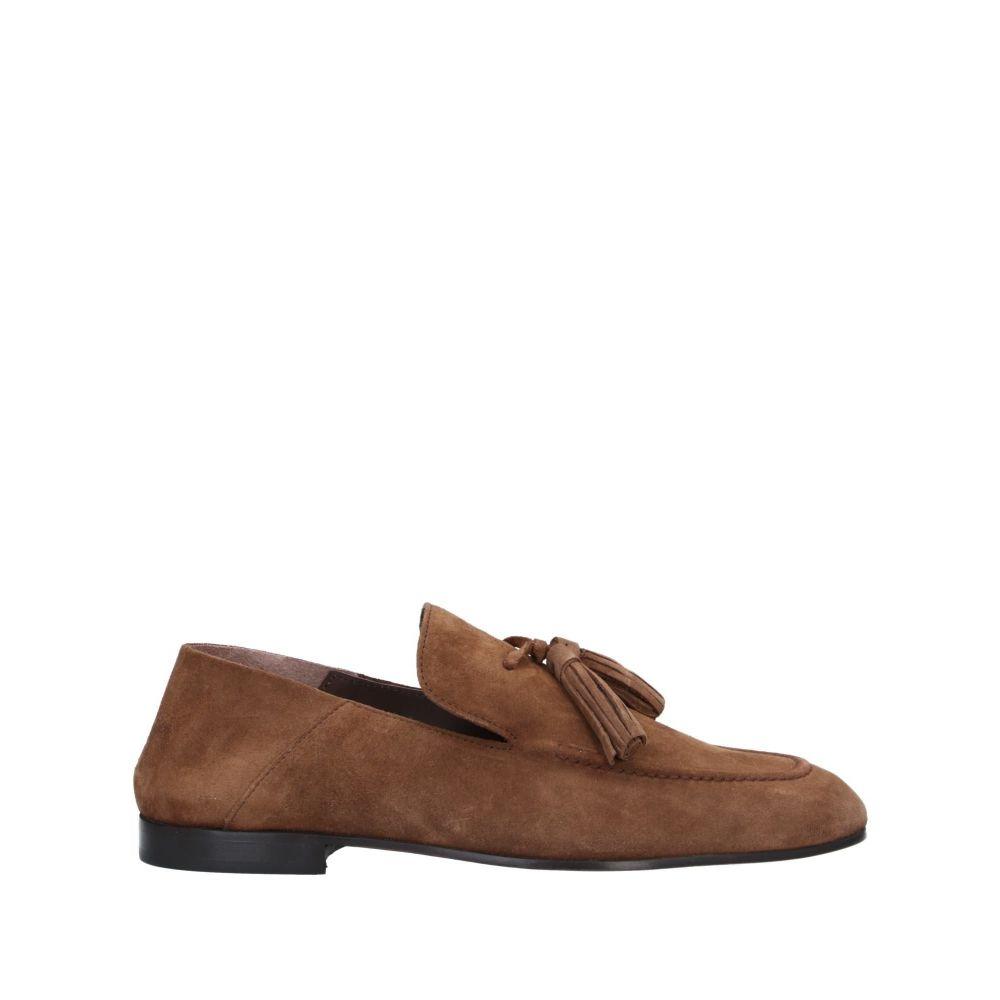 ボエモス BOEMOS メンズ ローファー シューズ・靴【loafers】Camel