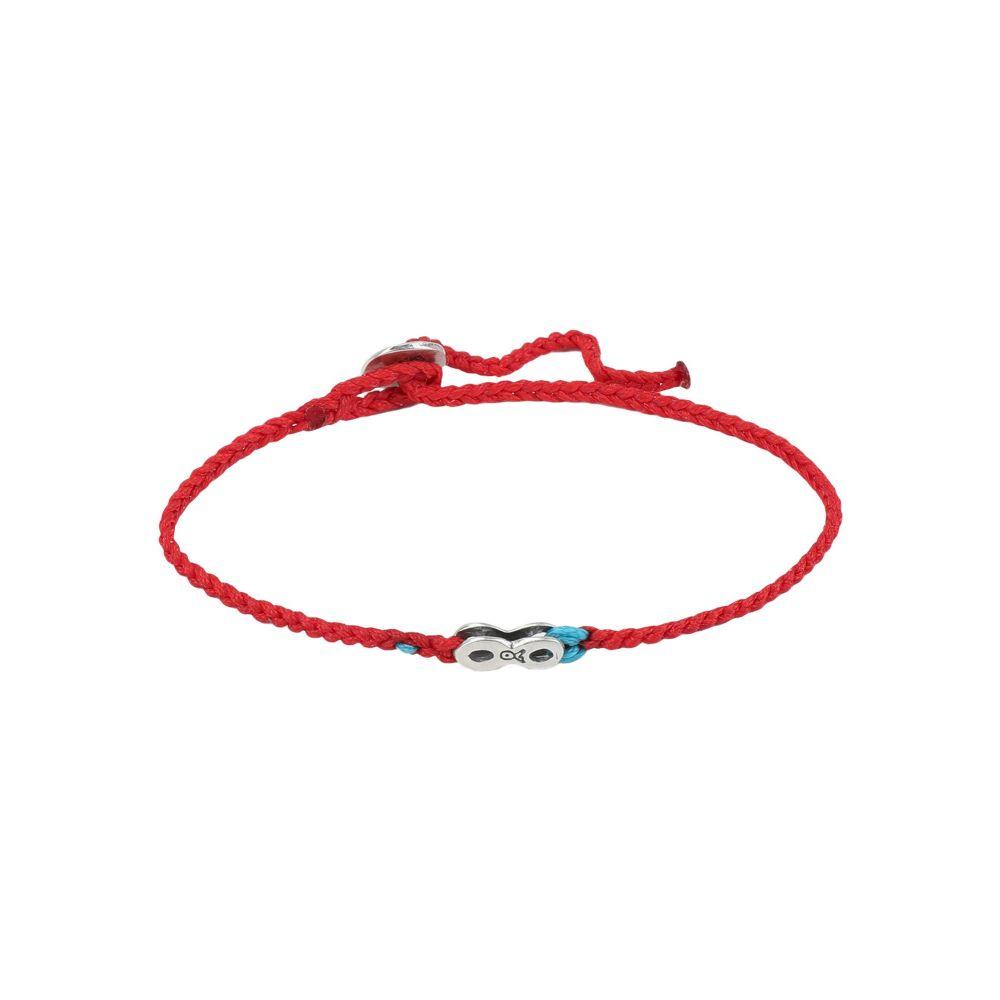 ベビーロニア BABYLONIA メンズ ブレスレット ジュエリー・アクセサリー【infinity bracelet】Red