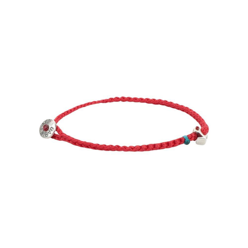 ベビーロニア BABYLONIA メンズ ブレスレット ジュエリー・アクセサリー【anchor bracelet】Red