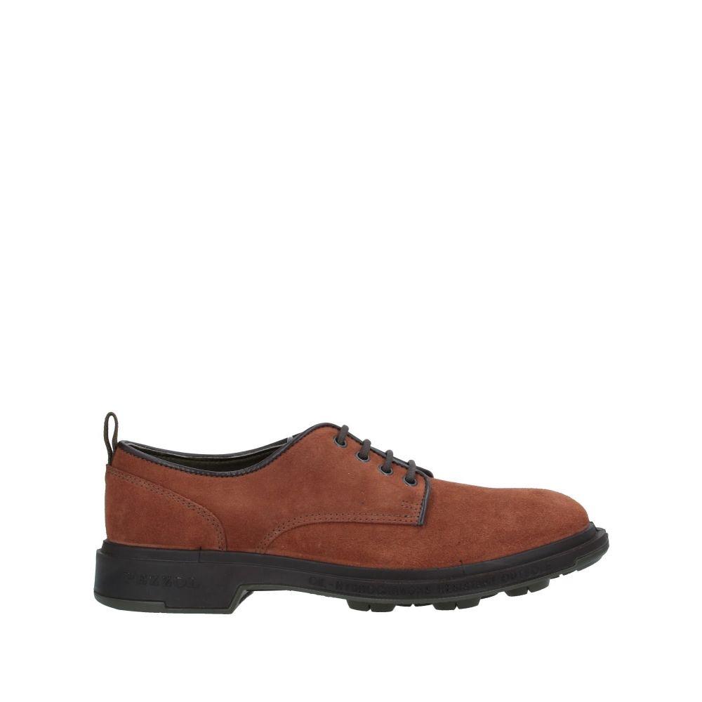 ペッツォール 1951 PEZZOL 1951 メンズ シューズ・靴 【laced shoes】Tan