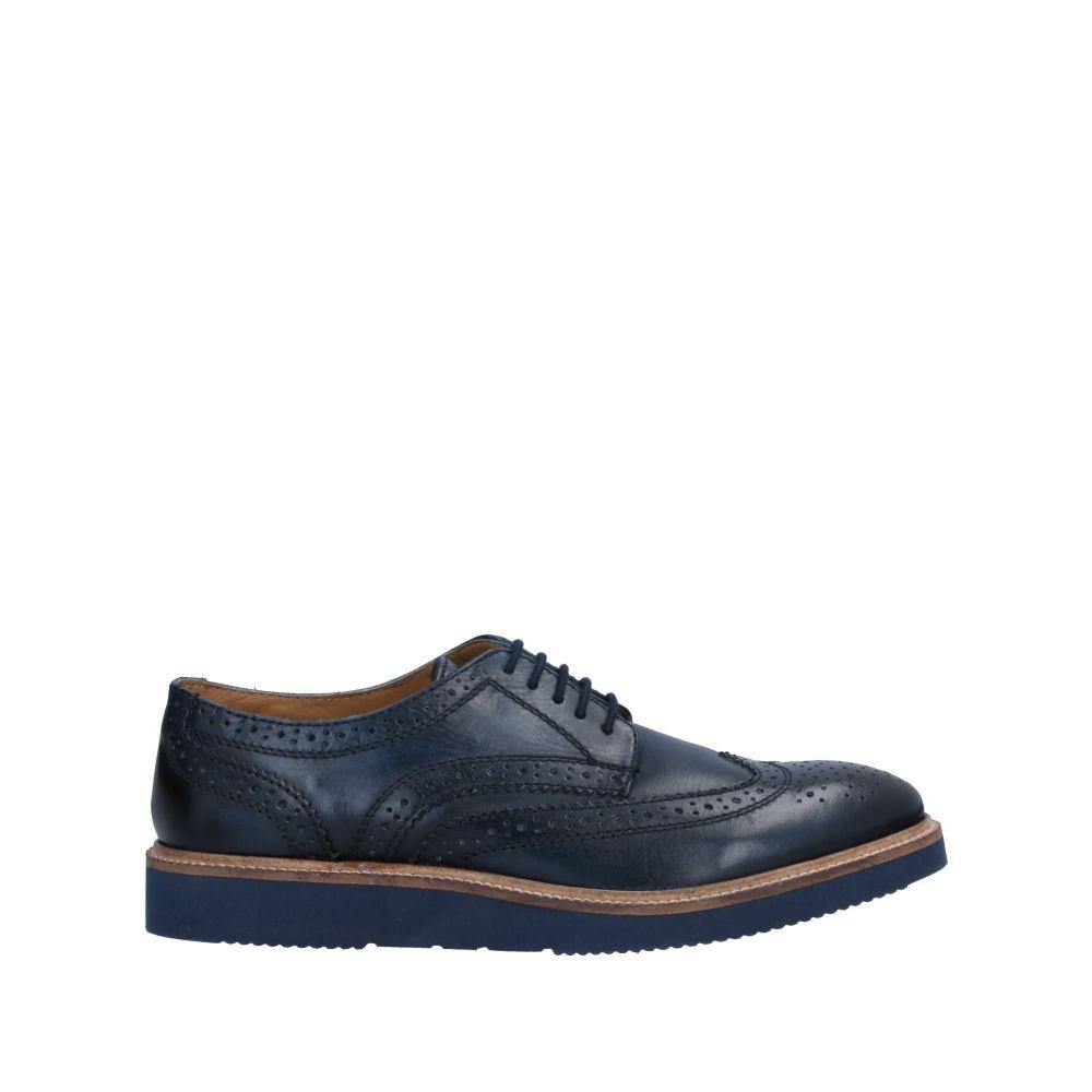 ベース ロンドン BASE London メンズ シューズ・靴 【laced shoes】Dark blue