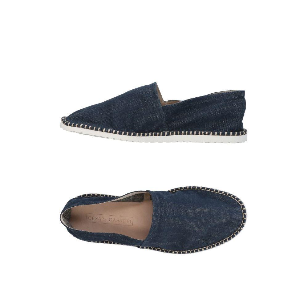 カサディ CASADEI メンズ エスパドリーユ シューズ・靴【espadrilles】Dark blue