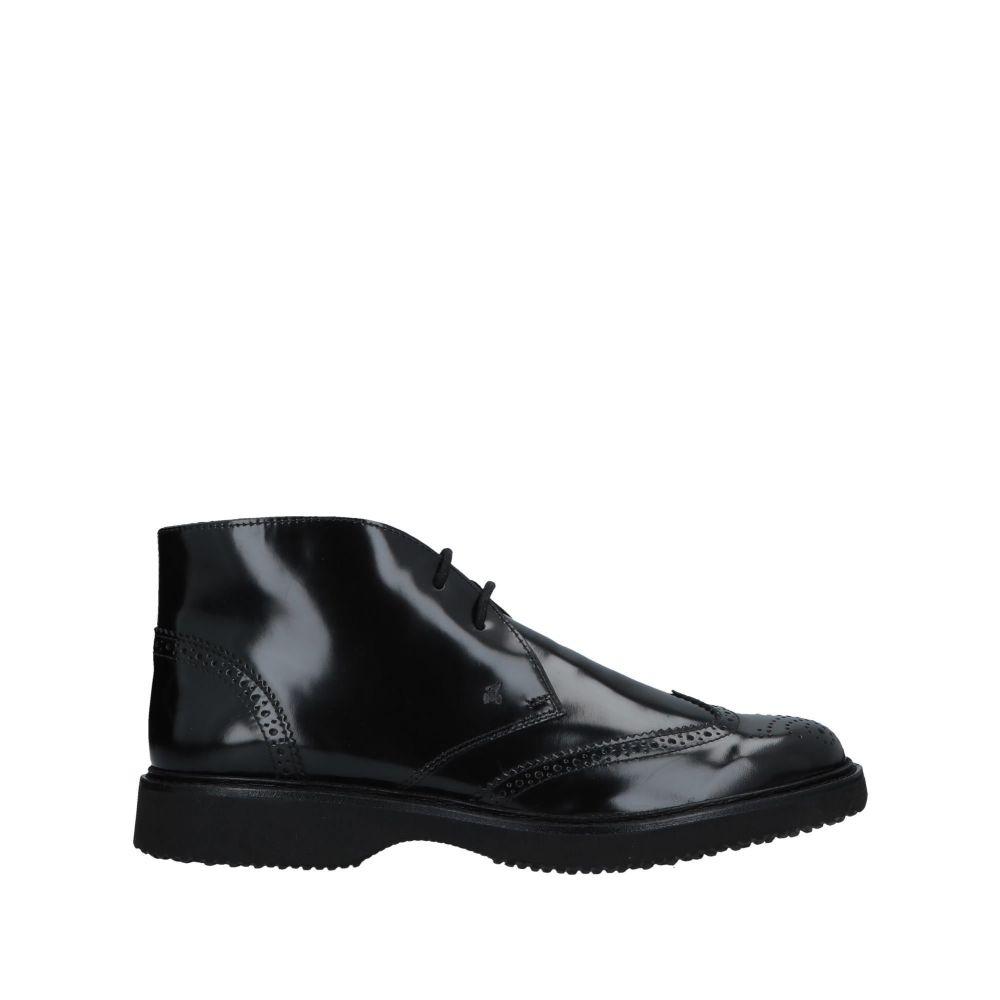 ホーガン HOGAN メンズ ブーツ シューズ・靴【boots】Black