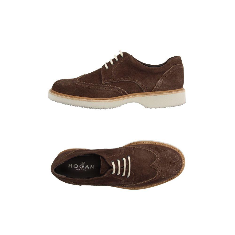 ホーガン HOGAN メンズ シューズ・靴 【laced shoes】Cocoa