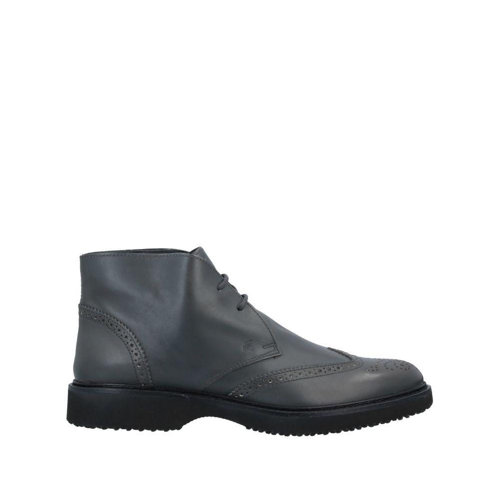 ホーガン HOGAN メンズ ブーツ シューズ・靴【boots】Steel grey