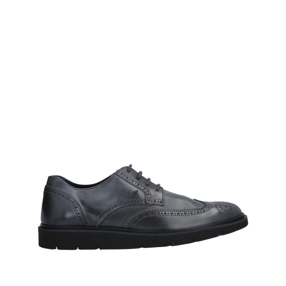 ホーガン HOGAN メンズ シューズ・靴 【laced shoes】Steel grey