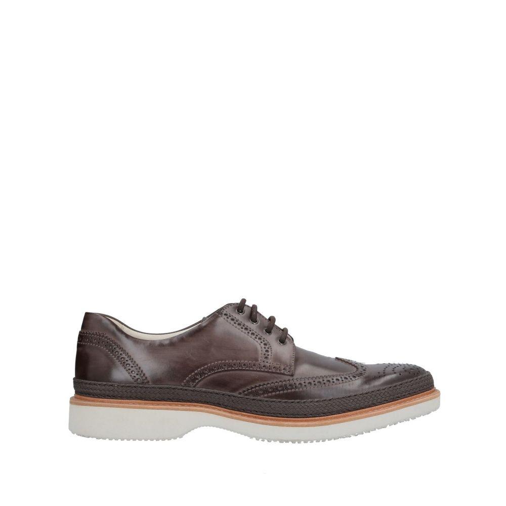 ホーガン HOGAN メンズ シューズ・靴 【laced shoes】Brown