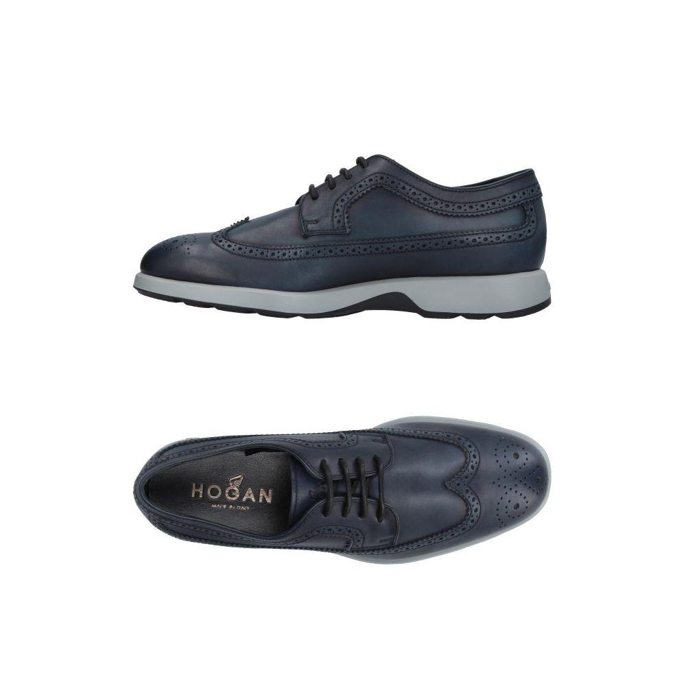 ホーガン HOGAN メンズ シューズ・靴 【laced shoes】Dark blue