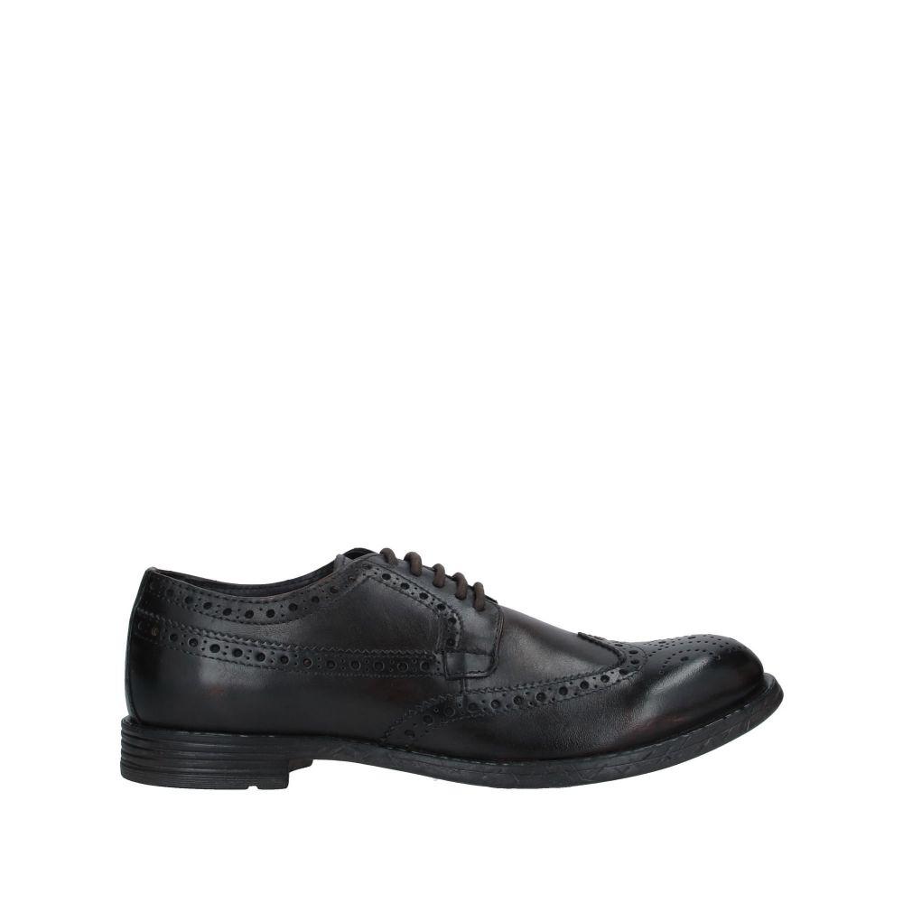 マニュエル リッツ MANUEL RITZ メンズ シューズ・靴 【laced shoes】Dark brown