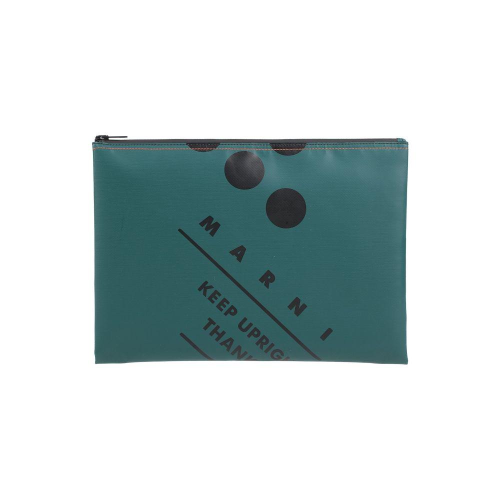 マルニ MARNI メンズ ハンドバッグ バッグ【handbag】Dark green