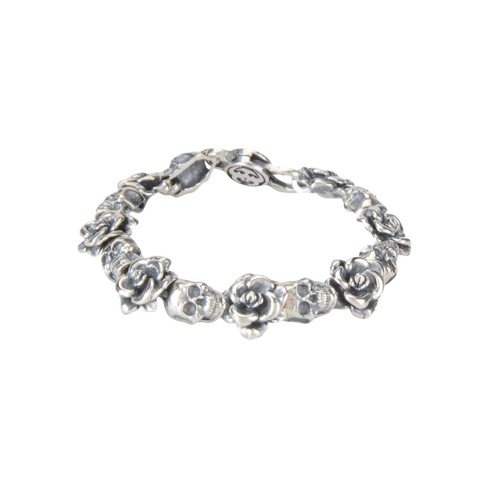 Open Shapes Silver sp FIGARO Link Rhinestone Belly Chain