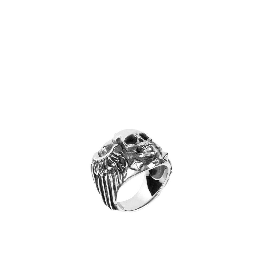 マヌエルボッチ MANUEL BOZZI メンズ 指輪・リング ジュエリー・アクセサリー【ring】Silver