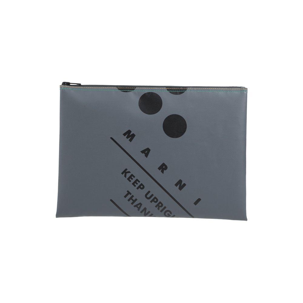 マルニ MARNI メンズ ハンドバッグ バッグ【handbag】Grey