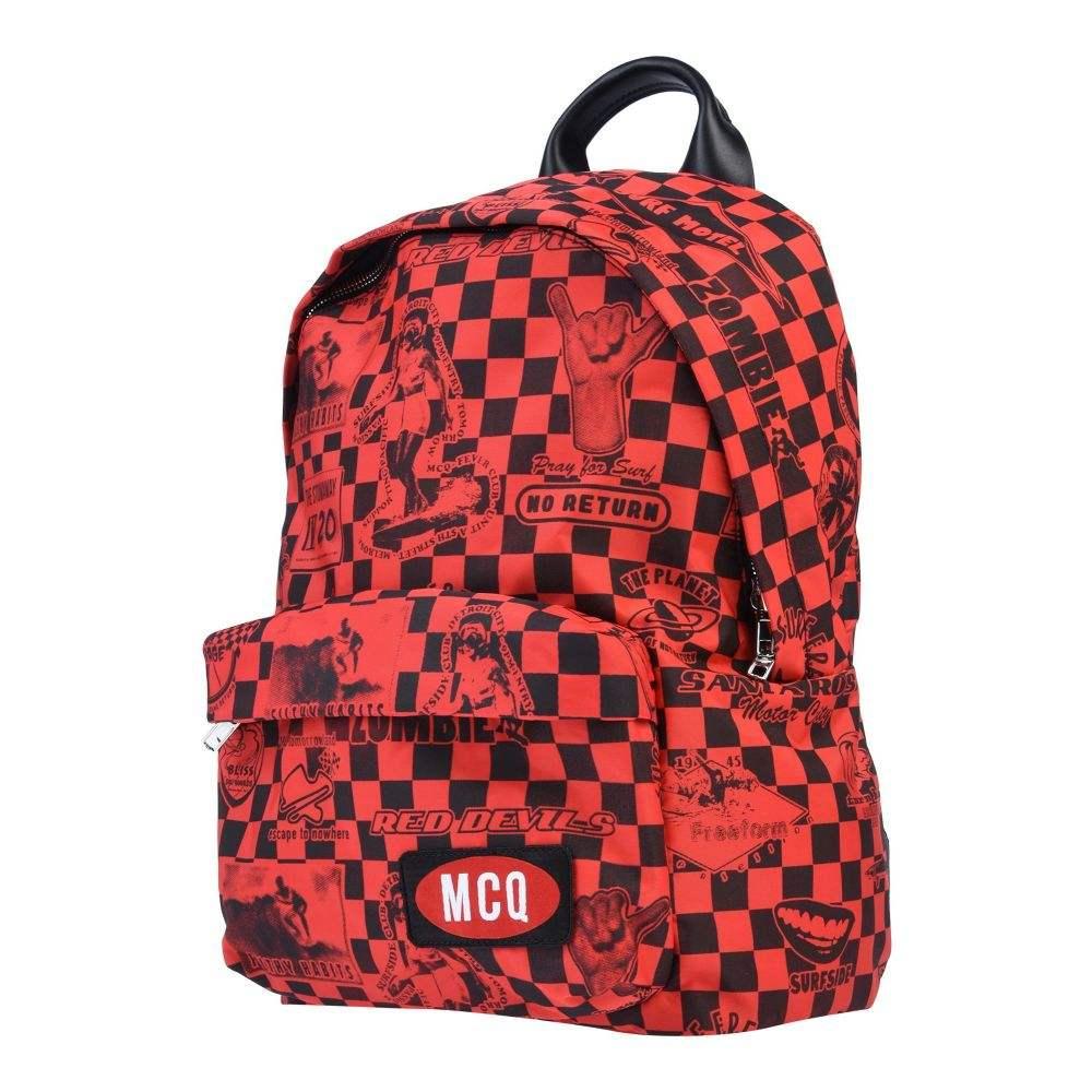アレキサンダー マックイーン McQ Alexander McQueen メンズ バッグ 【backpack & fanny pack】Red