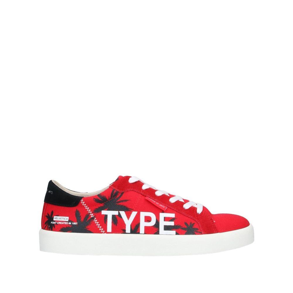 モア マスター オブ アーツ MOA MASTER OF ARTS メンズ スニーカー シューズ・靴【sneakers】Red
