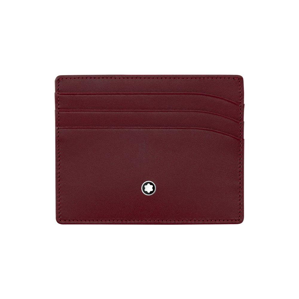 モンブラン MONTBLANC メンズ ビジネスバッグ・ブリーフケース バッグ【pocket 6cc document holder】Maroon