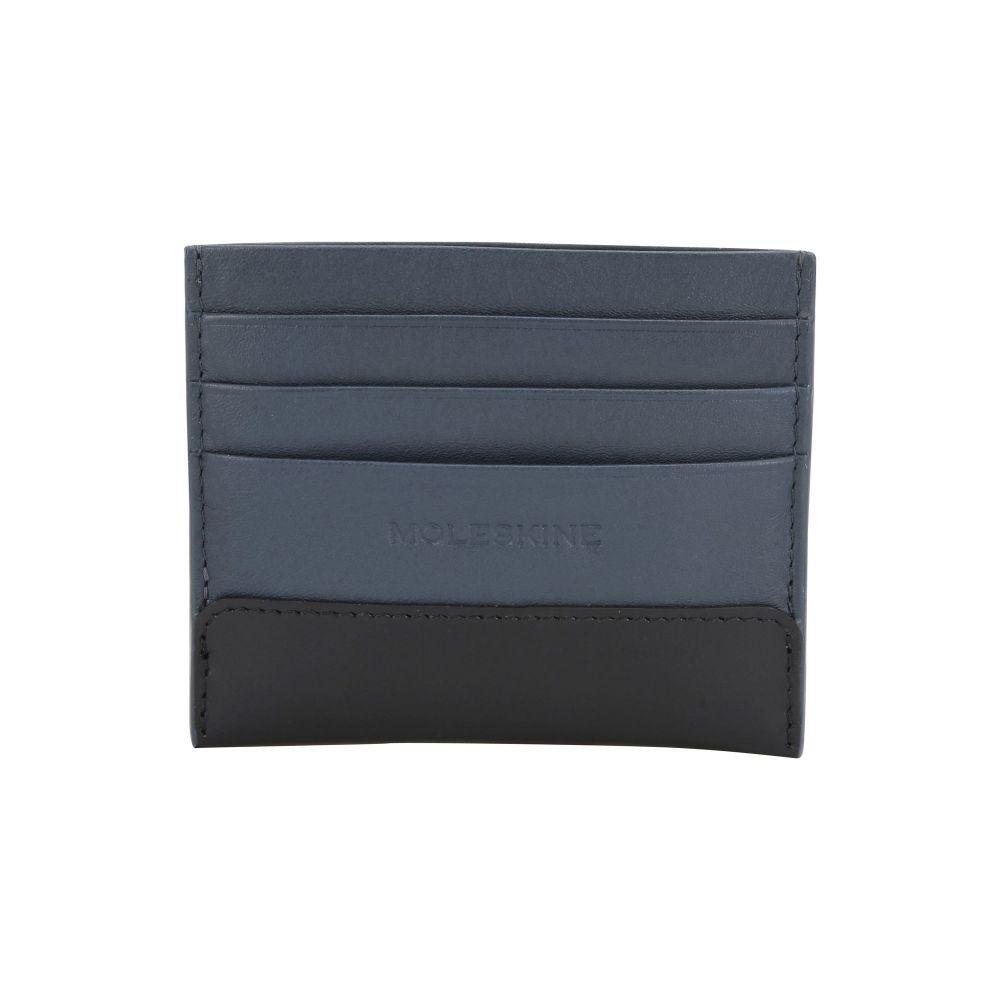 モレスキン MOLESKINE メンズ ビジネスバッグ・ブリーフケース カードホルダー バッグ【classic leather card wallet document holder】Slate blue