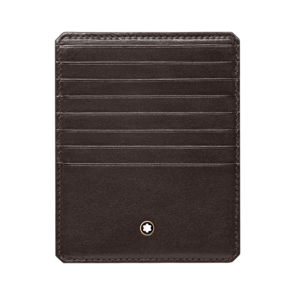 モンブラン MONTBLANC メンズ ビジネスバッグ・ブリーフケース バッグ【long pocket 8cc document holder】Dark brown