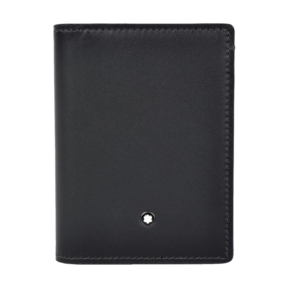 モンブラン MONTBLANC メンズ カードケース・名刺入れ カードホルダー【business card holder document holder】Steel grey