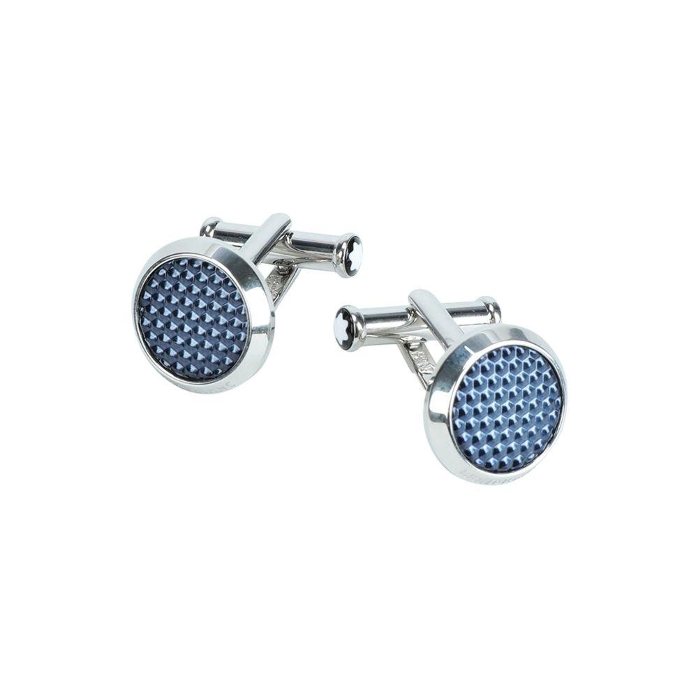 モンブラン MONTBLANC メンズ カフス・カフリンクス 【meisterstck cufflinks】Blue
