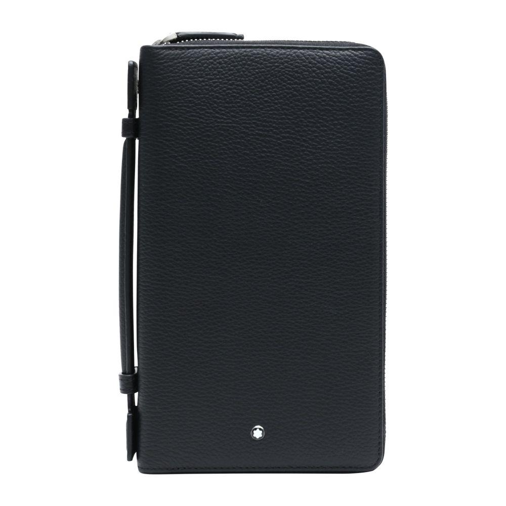 モンブラン MONTBLANC メンズ ビジネスバッグ・ブリーフケース バッグ【meisterstuck soft grain travel companion document holder】Black
