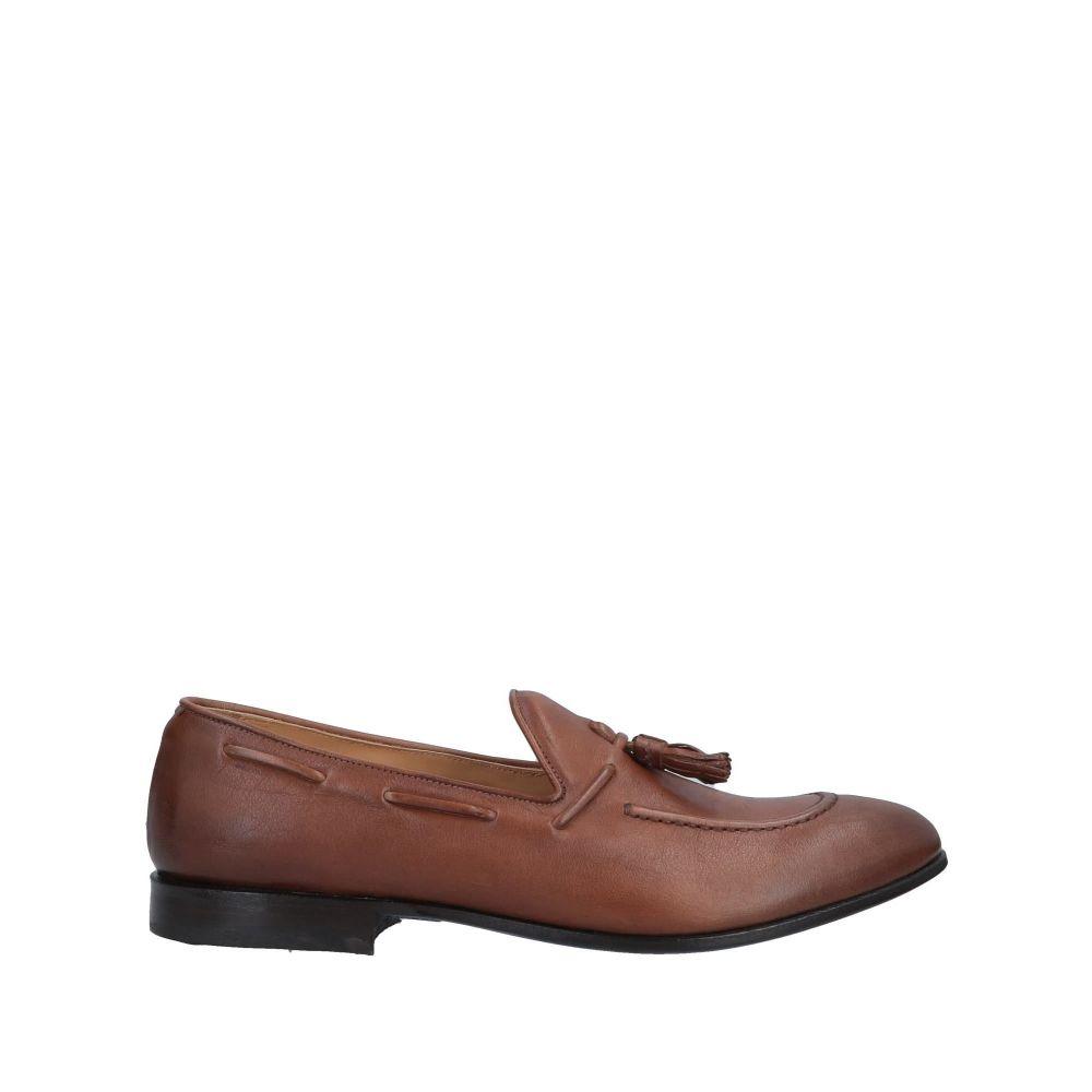 ラパーロ RAPARO メンズ ローファー シューズ・靴【loafers】Brown