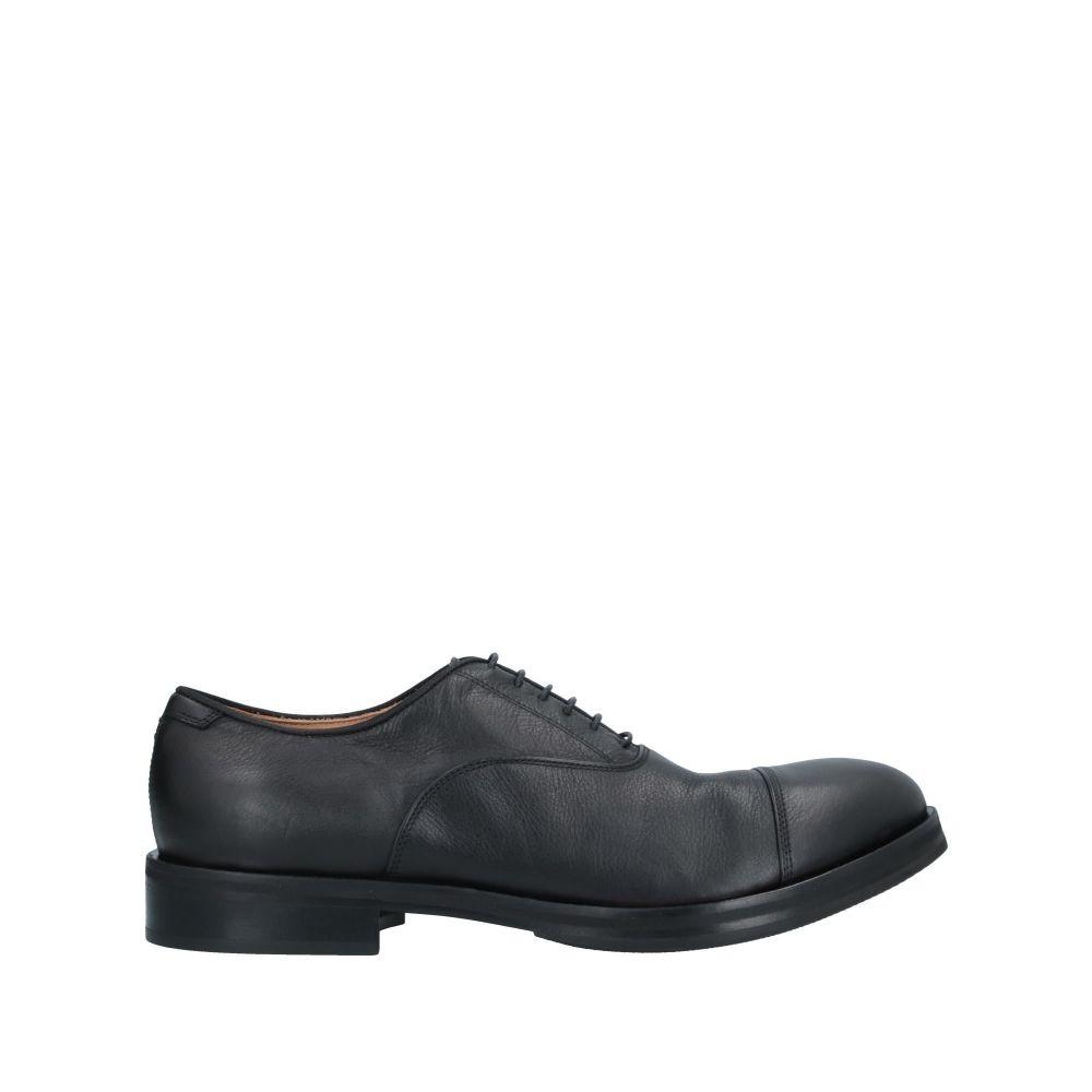 ラパーロ RAPARO メンズ シューズ・靴 【laced shoes】Black