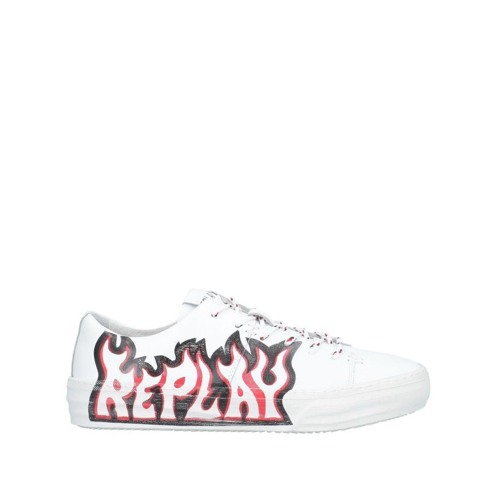 リプレイ REPLAY メンズ スニーカー シューズ・靴【sneakers】White