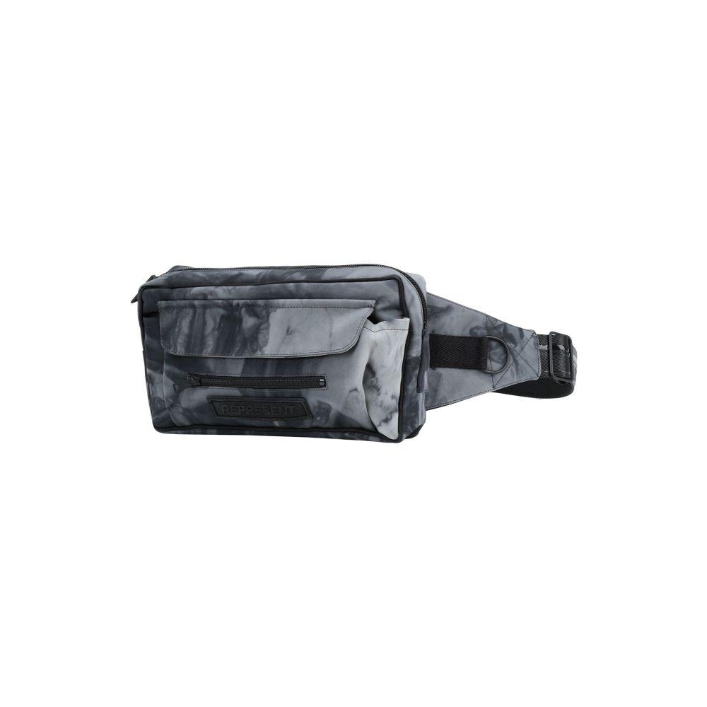 リプレゼント REPRESENT メンズ ボディバッグ・ウエストポーチ バッグ【cross body bag】Steel grey