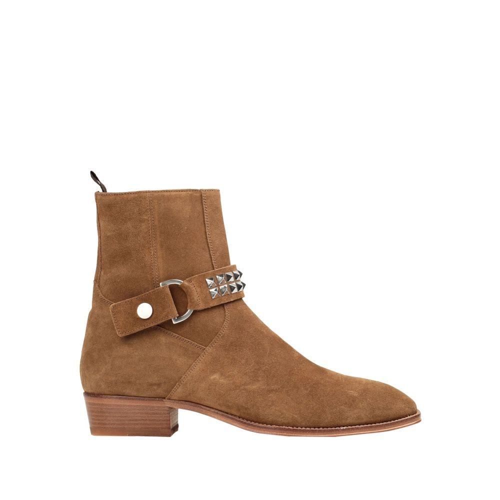 リプレゼント REPRESENT メンズ ブーツ シューズ・靴【strapped boot】Camel