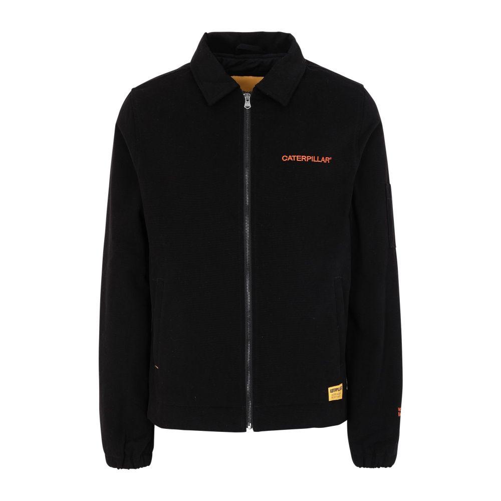 キャピタラー カジュアル CATERPILLAR メンズ ジャケット アウター【twill jacket】Black