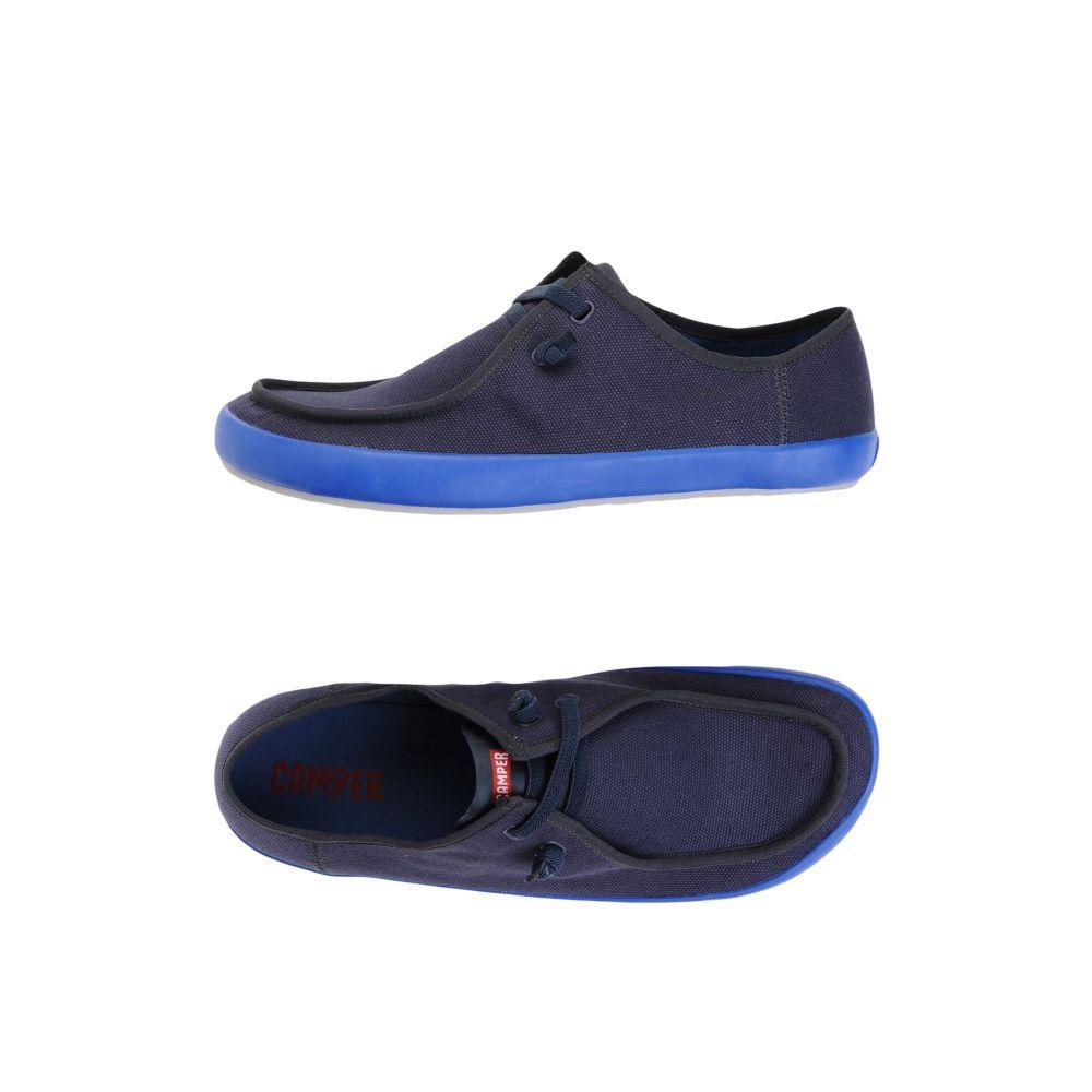 カンペール CAMPER メンズ シューズ・靴 【peu rambla vulcanizado】Blue
