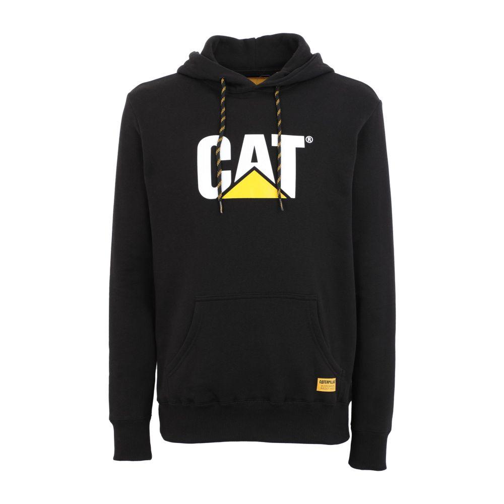 キャピタラー カジュアル CATERPILLAR メンズ パーカー トップス【cat hoodie】Black