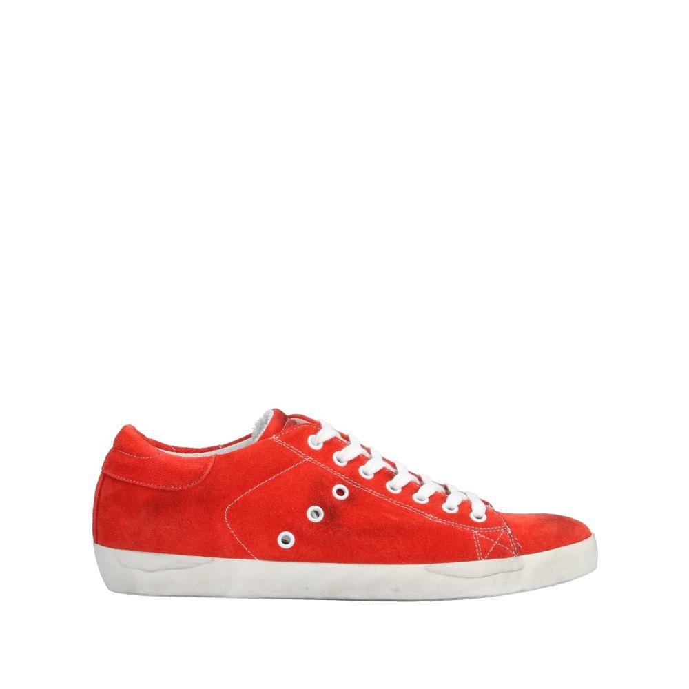 レザークラウン LEATHER CROWN メンズ スニーカー シューズ・靴【sneakers】Red