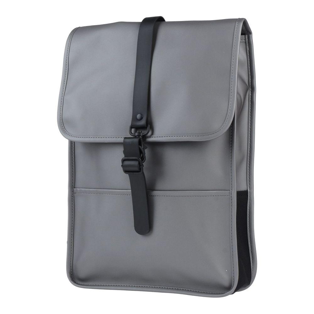 レインズ RAINS メンズ バッグ 【backpack & fanny pack】Steel grey